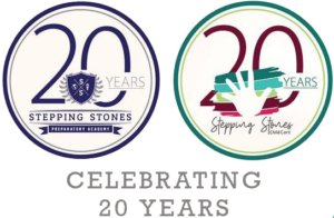 stepping stones preparatory academy and child care badges