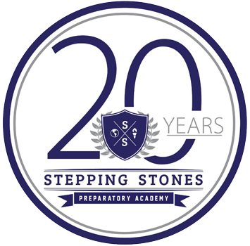 20 years stepping stone badge